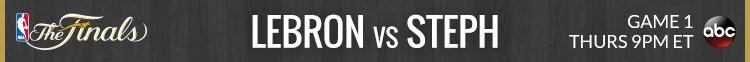 Lebron vs Steph